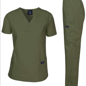 0266 Dagacci Scrubs Medical Uniform Women set